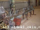 правильно-отрезной станок мод. И6119 (завод г. Хмельницкий) для проволоки с 1,6 мм. до 6 мм. вес 1400 кг